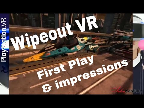 Wipeout VR! Oh Wow! Yes The Dream is Real! The King of AG Racers is on PSVR!