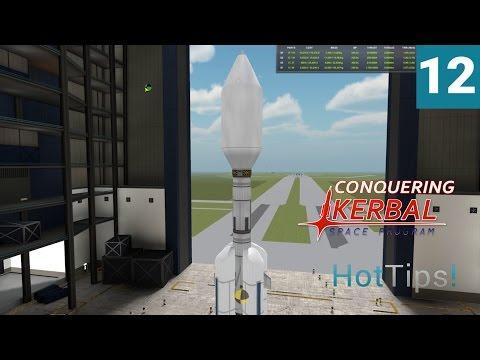 Kerbal Space Program [1.1.2] - Ep 12 - RemoteTech Satellites - Let's Play