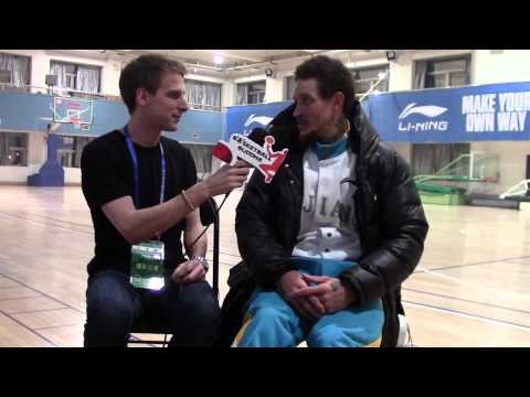 Delonte West in China talks CBA, culture and Wang Zhelin