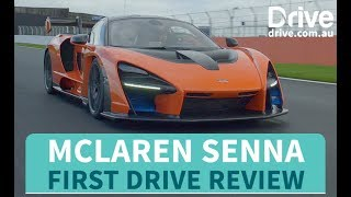 McLaren Senna First Drive Review | Drive.com.au