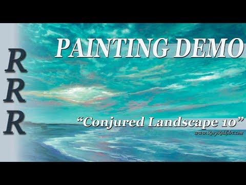 Original Painting SpeedPaint Timelapse Landscape Art Drawing Oil CL10