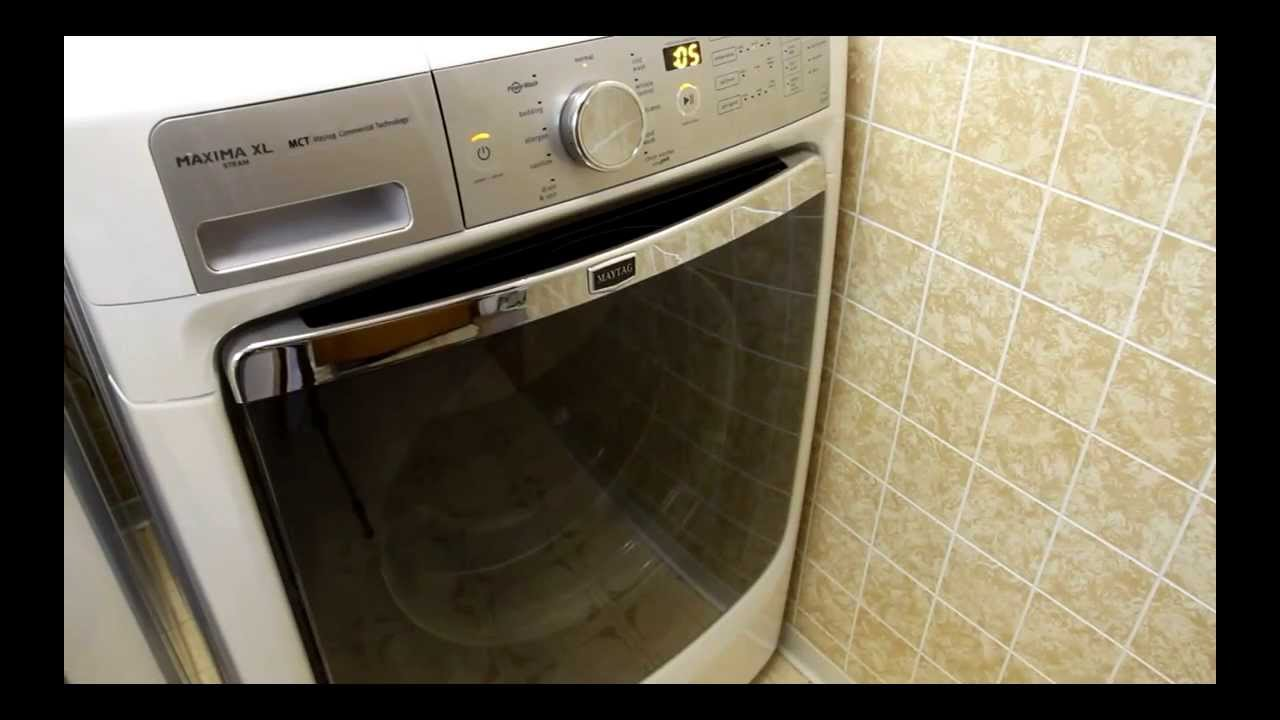 Maytag Maxima Xl Washer And Dryer Review Cheapest Price Youtube