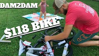 Bike Assembly for Dam to Dam Century Ride