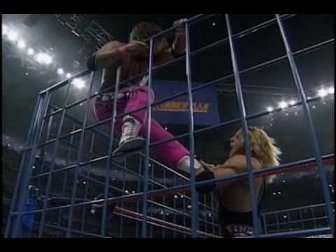 """Evil Angel""-Bret Hart Vs. Owen Hart (1994 steel cage) *MV*"