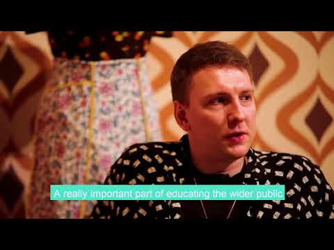 Joe Lycett Interview at the Coming Out exhibition launch at Birmingham Museum and Art Gallery