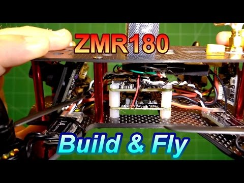 ZMR180 FPV build with less than 0.55lbs (250g) flying weight