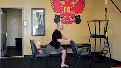 Evolution Fitness / Tucson Kettlebell: Stretching neck and back pain away??