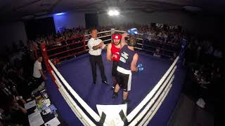 Ultra White Collar Boxing | Telford | Luke Long VS James Hughes