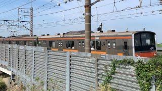 武蔵野線 205系M17編成 荒川橋梁通過シーン