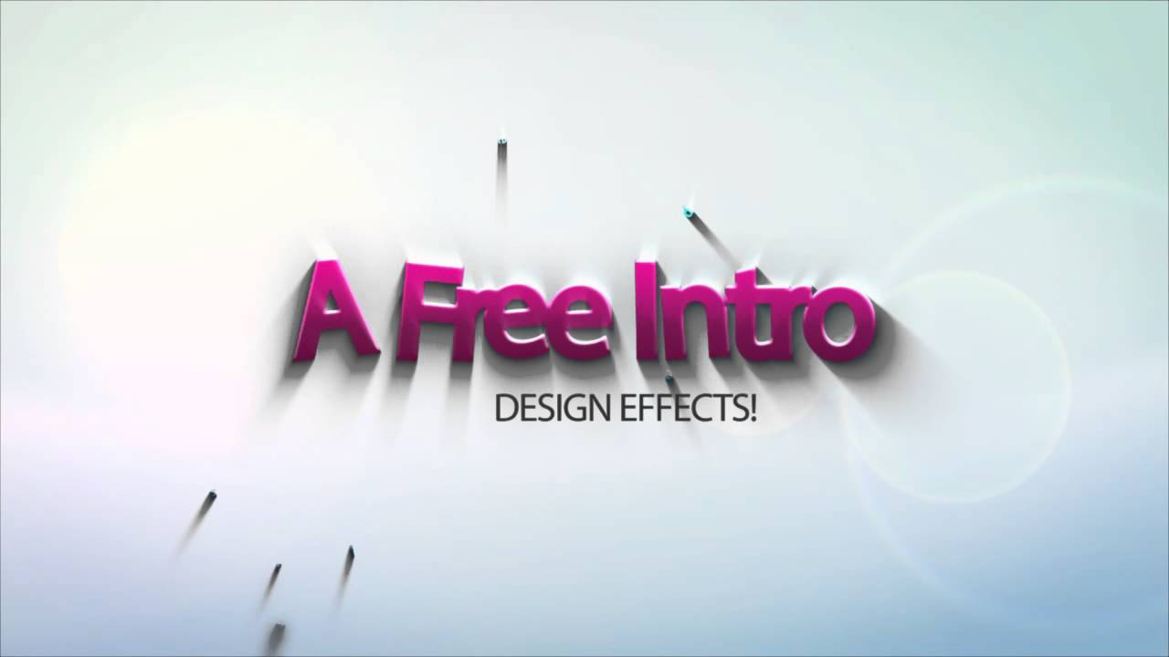 Intro Dazzoi Graphics Editable Template After Effects HD YouTube - Editable after effects templates