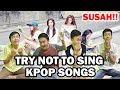 TRY NOT TO SING KPOP SONGS ( SANGAT TIDAK BISA DI TAHAN )