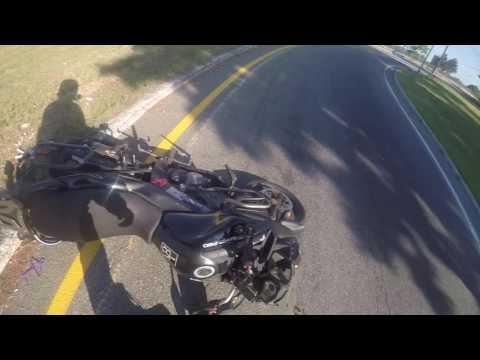 Rhok Jeans motorcycle crash test!