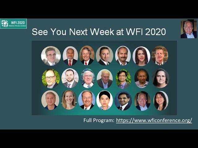 See you next week at WFI 2020