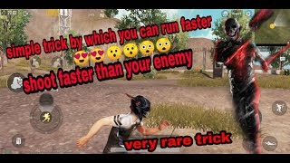 PUBG MOBILE How To Move Faster (Escape from all your enemies) [HINDI]