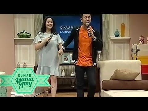 Karaoke Romantis Raffi Ahmad dan Nagita Slavina - Rumah Mama Amy (5/8)