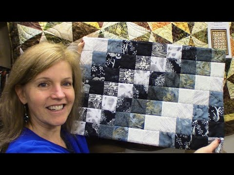 Placemats Using Bargello Method | Introduction to the Bargello Pattern by Making Placemats!