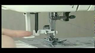 ジャノメミシン 針穴糸通し器の使い方 thumbnail