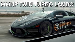 900hp TWIN TURBO VS SUPERCHARGED LAMBORGHINI! (You'll never guess who wins)