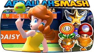 Mario Tennis Aces - ALL Tournament Trophies With Daisy! [Nintendo Switch]