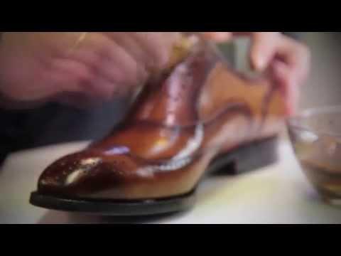 Смотреть Ручное прозводство элитной обуви под заказ в Москве. онлайн