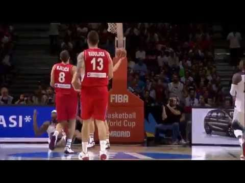 Basketball team of Serbia TRIBUTE - WC SPAIN 2014