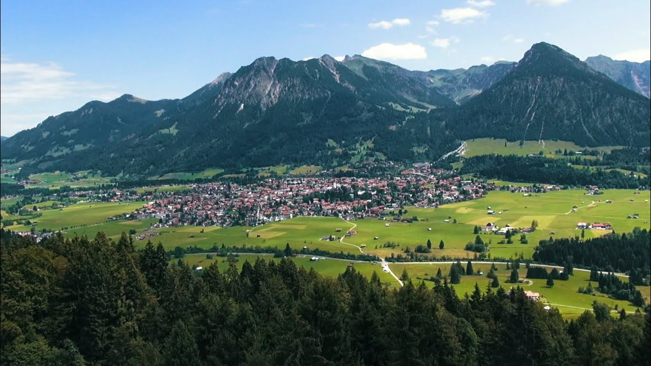 Sommerurlaub in Oberstdorf im Allgäu