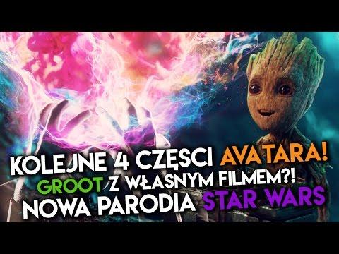 Parodia STAR WARS?! Groot z własnym filmem! Nowy AVATAR!? | DafuqNews