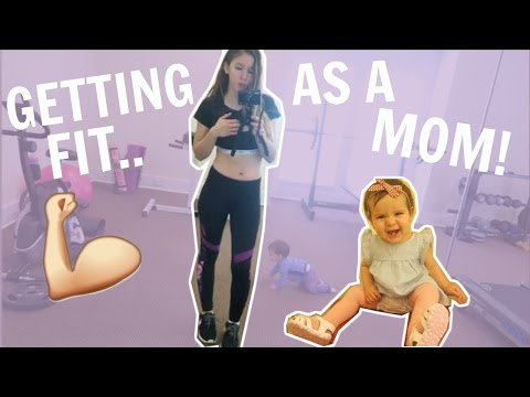 GETTING IN SHAPE AFTER HAVING A BABY- VLOG