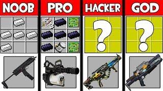 Minecraft - NOOB vs PRO vs HACKER vs GOD : SUPER WEAPON in Minecraft ! AVM SHORTS Animation