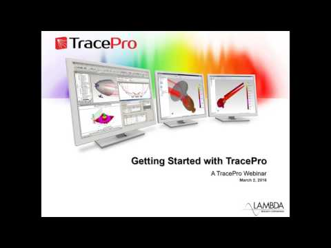 Getting Started with TracePro