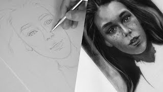 Построение портрета карандашом. Принципы построения