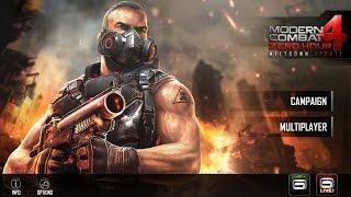 วิธีติดตั้ง เกม MC4 (Modern Combat 4) + MOD+OBB