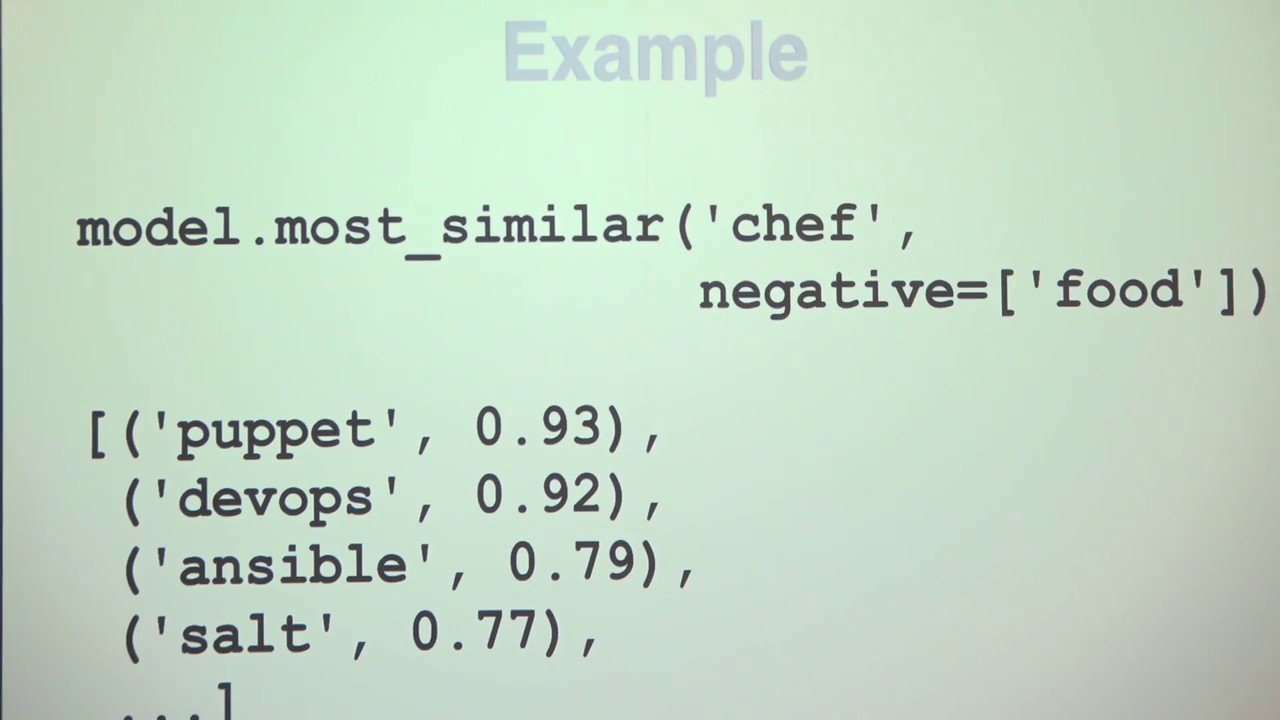 Image from Understanding Natural Language using Word Vectors