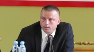 XXVII sesja Rady Powiatu �askiego cz.4