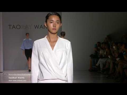 TAORAY WANG: MERCEDES-BENZ FASHION WEEK S/S15 COLLECTIONS