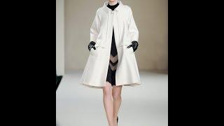 видео Женские пальто трапеция