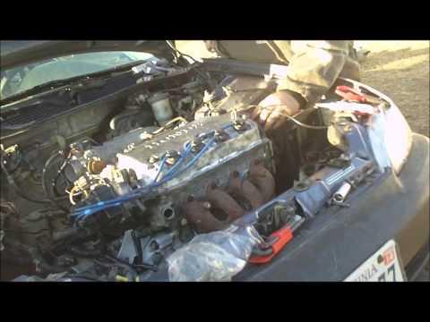 Honda Civic eg9 aka: Project S#it Box rebirth part 8 NEW ENGINE STRAT UP FIRST TIME