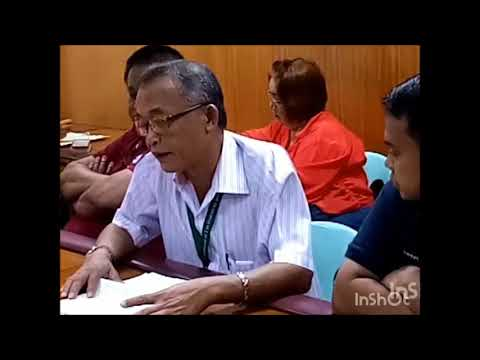 DENR Meeting with regard to land dispute in Brgy Payatas and other brgy.