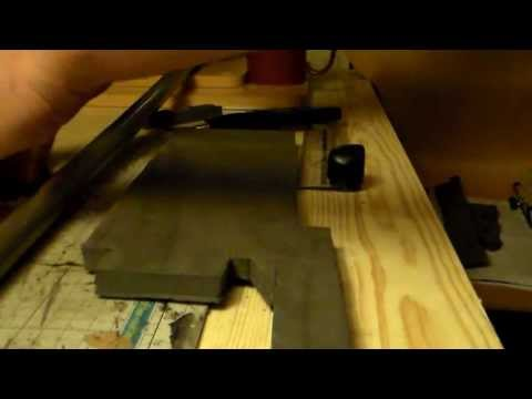 How to Make a full Scale Space Marine Chainsword Part 1