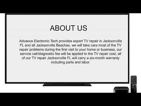 TV Repair Jacksonville Fl Advance Electronic Tech