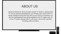 TV Repair Jacksonville Fl Advance Electronic Tech