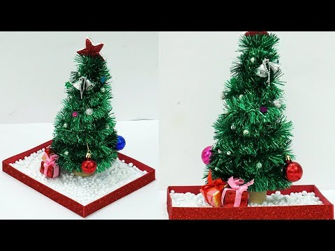 How to Make an Easy Paper Christmas Tree | DIY Christmas Decoration Crafts | StylEnrich