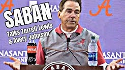 Nick Saban talks Terrell Lewis injury, safety in college football, Avery Johnson, and leadership