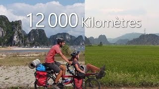 Asie-Cyclette : 12000 Km en tandem