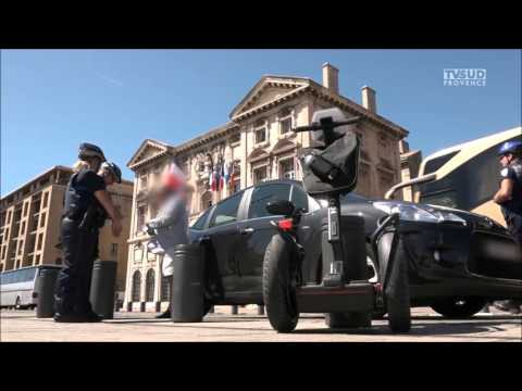 Reportage Segway Patroller - Police Municipale de Marseille