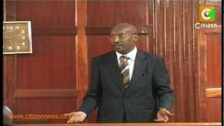 Philip Moi Appears in Court