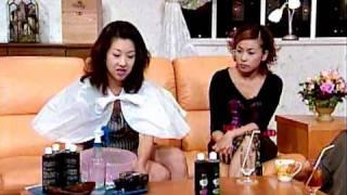 テレビショッピング 炭シャンプー・超ミニスカ