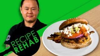 A Flavor Fueled Turkey Burger I Recipe Rehab I Everyday Health