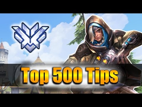 How GRANDMASTER Players DESTROY With Ana - Overwatch Top 500 PRO Tricks | Dahang Vod