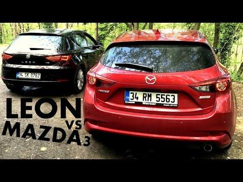 Mazda3 vs Seat Leon Karlatrma